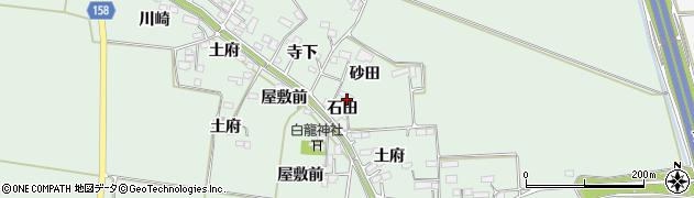 宮城県大崎市古川飯川(石田)周辺の地図
