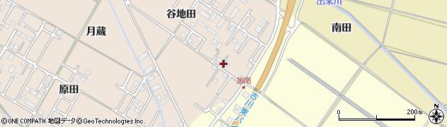 宮城県大崎市古川大幡(谷地田)周辺の地図