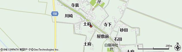 宮城県大崎市古川飯川(土府)周辺の地図