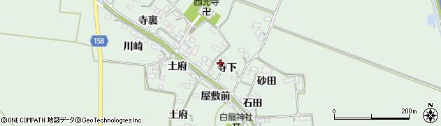 宮城県大崎市古川飯川(寺下)周辺の地図