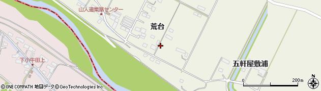 宮城県大崎市田尻北小牛田(新荒台)周辺の地図