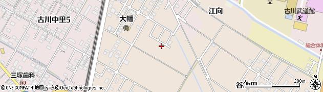 宮城県大崎市古川大幡(月蔵)周辺の地図