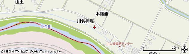 宮城県大崎市田尻北小牛田(川名押堀)周辺の地図