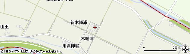 宮城県大崎市田尻北小牛田(百々谷地)周辺の地図