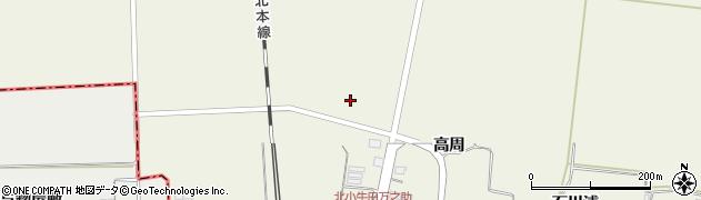 宮城県大崎市田尻北小牛田(石堂掛江下)周辺の地図