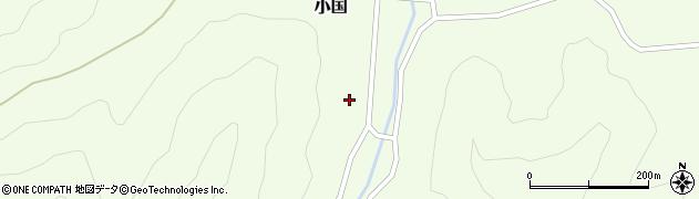 山形県鶴岡市小国(小国)周辺の地図
