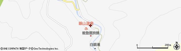 山形県尾花沢市銀山新畑445周辺の地図