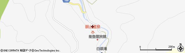 山形県尾花沢市銀山新畑443周辺の地図