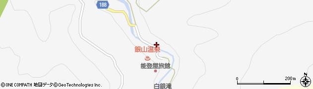 山形県尾花沢市銀山新畑416周辺の地図
