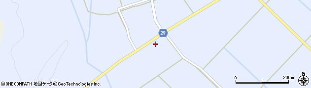 山形県尾花沢市六沢205周辺の地図