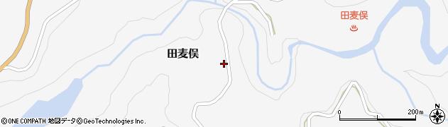 山形県鶴岡市田麦俣(蟻腰)周辺の地図