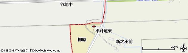 宮城県大崎市田尻大沢(柳原)周辺の地図