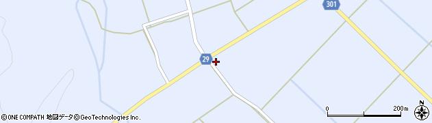 山形県尾花沢市六沢197周辺の地図