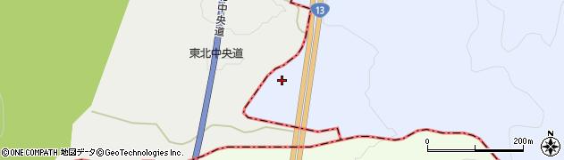 山形県尾花沢市五十沢12周辺の地図