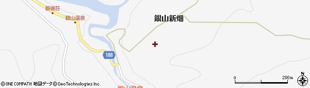山形県尾花沢市銀山新畑562周辺の地図