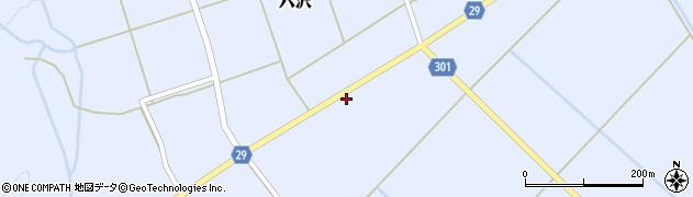山形県尾花沢市六沢180周辺の地図