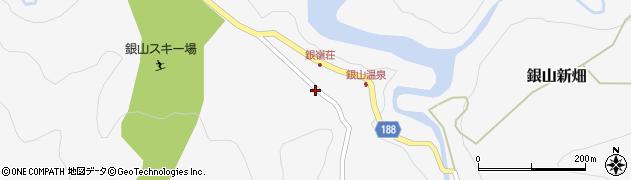 山形県尾花沢市銀山新畑20周辺の地図