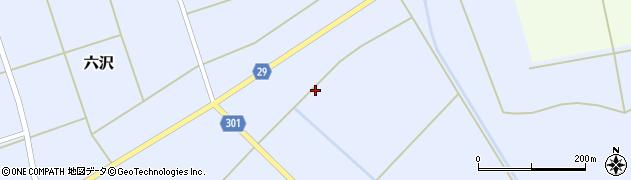 山形県尾花沢市六沢285周辺の地図
