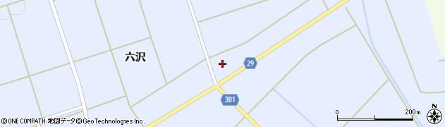 山形県尾花沢市六沢273周辺の地図