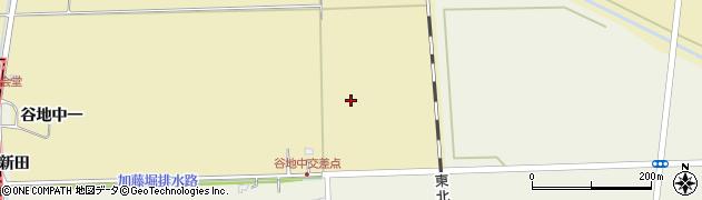 宮城県大崎市田尻大沢(南谷地中)周辺の地図