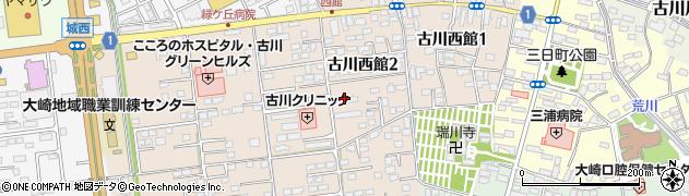 東日本高速道路宿舎周辺の地図