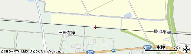 宮城県大崎市古川飯川(沼田)周辺の地図