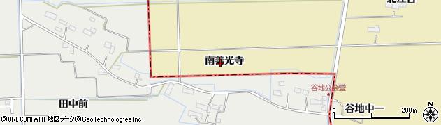 宮城県大崎市田尻大沢(南善光寺)周辺の地図