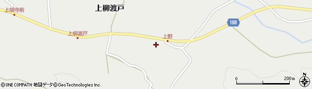 山形県尾花沢市上柳渡戸18周辺の地図