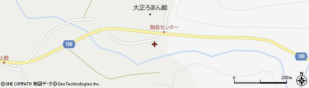 山形県尾花沢市上柳渡戸375周辺の地図