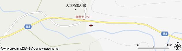 山形県尾花沢市銀山新畑160周辺の地図
