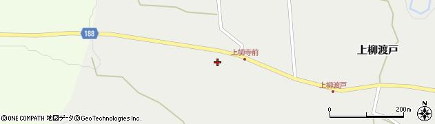 山形県尾花沢市上柳渡戸周辺の地図