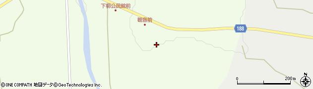 山形県尾花沢市下柳渡戸59周辺の地図