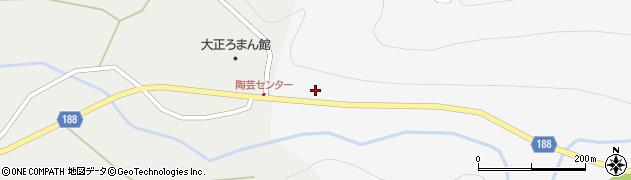 山形県尾花沢市銀山新畑162周辺の地図