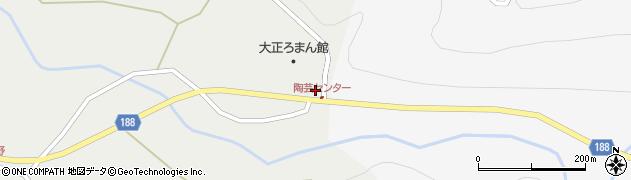 山形県尾花沢市上柳渡戸360-1周辺の地図