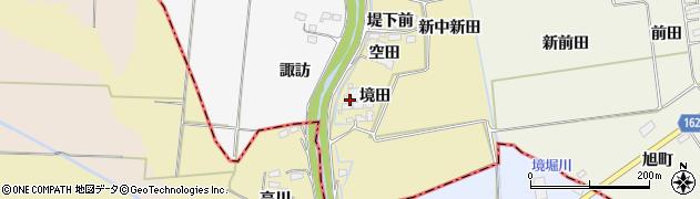宮城県大崎市古川柏崎(中新田)周辺の地図