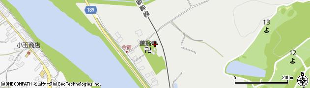 善翁寺周辺の地図