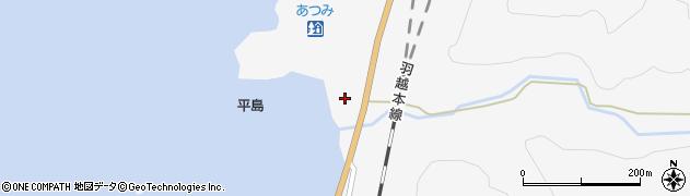 山形県鶴岡市早田(戸ノ浦)周辺の地図