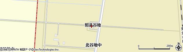 宮城県大崎市田尻大沢(照井谷地)周辺の地図