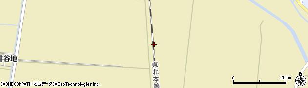 宮城県大崎市田尻大沢(照井谷地北)周辺の地図