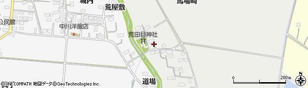 宮城県大崎市古川荒田目(遠仙筒)周辺の地図