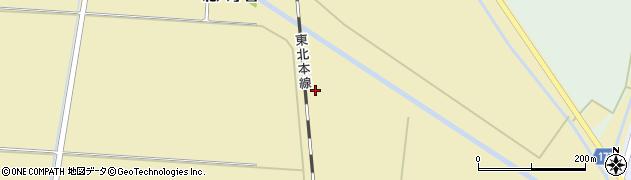 宮城県大崎市田尻大沢(今野五郎)周辺の地図