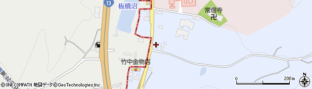 山形県尾花沢市五十沢219周辺の地図