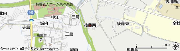 宮城県大崎市古川荒田目(後藤西)周辺の地図