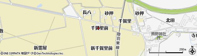 宮城県大崎市古川柏崎(千賀里前)周辺の地図