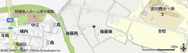 宮城県大崎市古川荒田目(馬場崎)周辺の地図