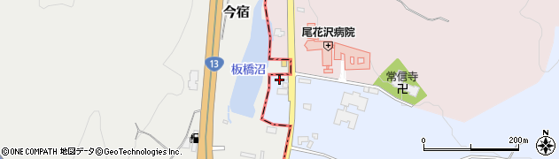 山形県尾花沢市五十沢178周辺の地図