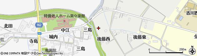宮城県大崎市古川荒田目(深田)周辺の地図