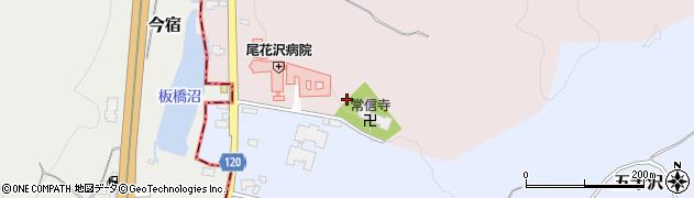 山形県尾花沢市朧気682周辺の地図