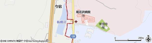 山形県尾花沢市五十沢180周辺の地図