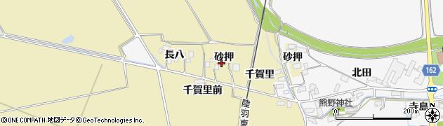宮城県大崎市古川柏崎(砂押)周辺の地図